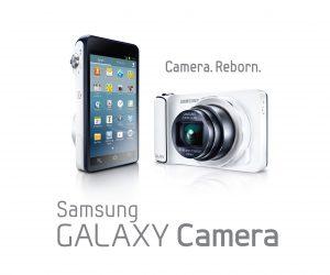 Samsung Galaxy Camera with Logo