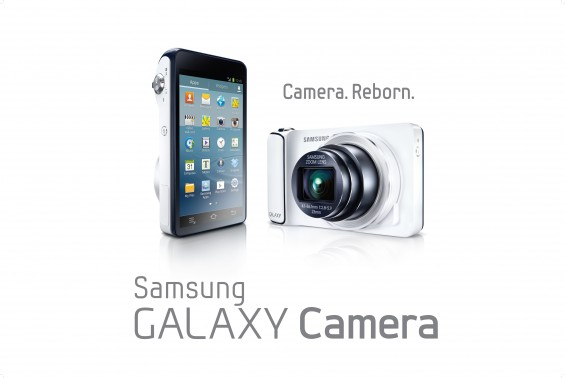 Samsung Galaxy Camera with Logo