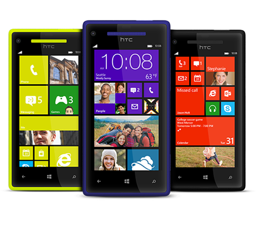 HTC WP 8X 3V multicolor