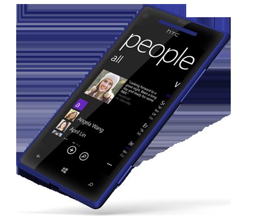HTC WP 8X L45 blue