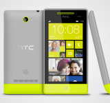 WP 8S by HTC High-Rise Grey 3views