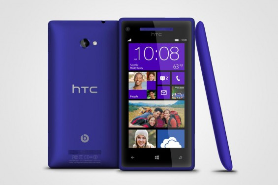 Windows Phone 8X by HTC California Blue