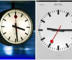 Time to steal the time? Apple borrows Swiss Clocks image [updated]