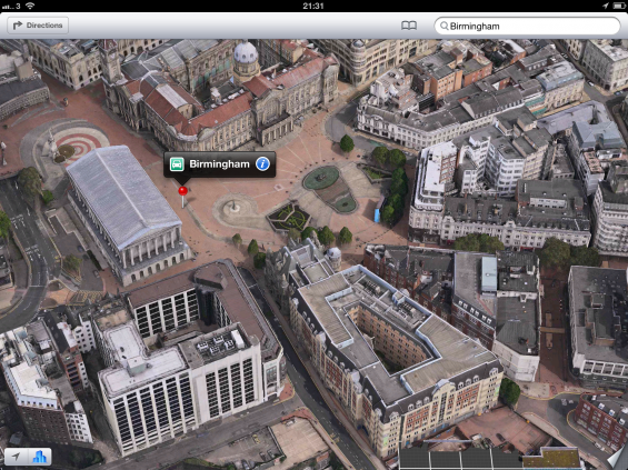 UK Satellite images in iOS 6   One word. Rubbish.