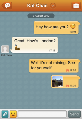 ChatON adds new features