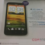 HTC One X+ revealed early in O2 brochure