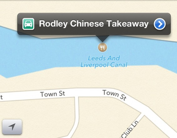 Lost in Apple Maps