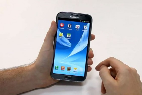 Galaxy Note II. Want one? Head to London tomorrow.