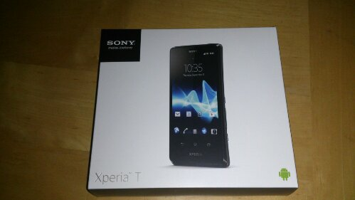 Sony Xperia T Unboxing   The Bond phone