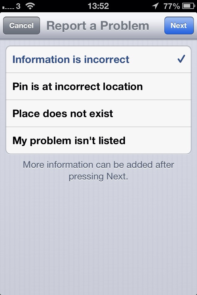 Apple are updating iOS 6 Map errors pretty quickly