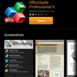 Officesuite Professional free today on the Amazon Appstore