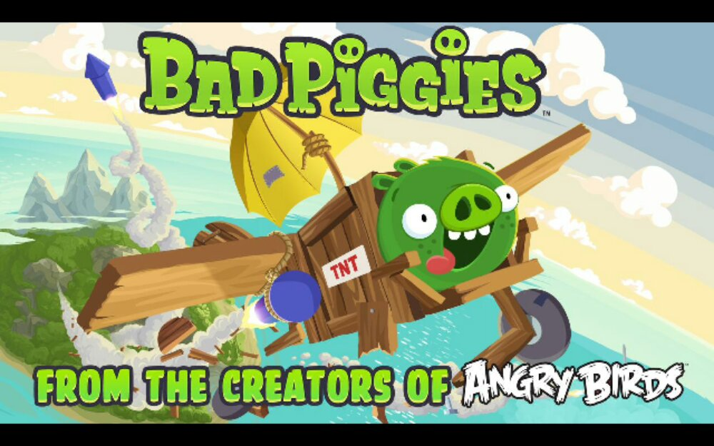 Bad Piggies now available in the Google Play Store