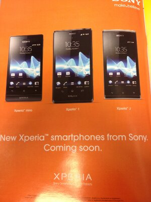 New Sony Xperia devices headed to Vodafone