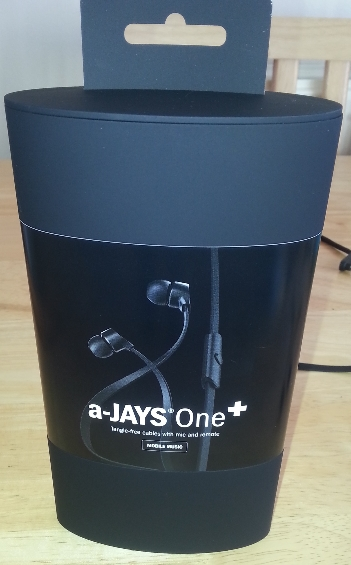 a Jays headphone box