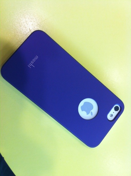Moshi case review for iPhone 5