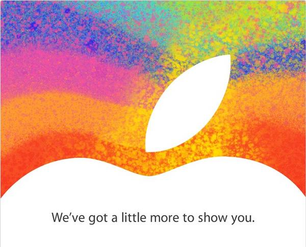 Apple sends out invites for event on Tuesday 23rd October, iPad Mini?