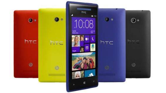 HTC Windows Phone 8X colours