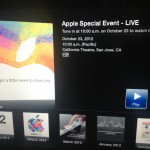 Apple to stream todays event live to Apple TV's and on Apple.com