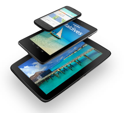 Nexus 10 tablet officially announced