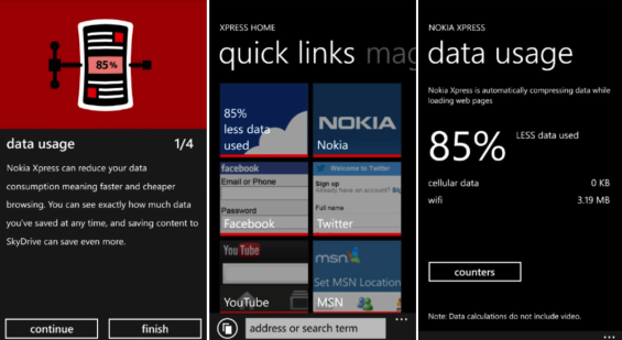 Nokia Express for Lumia (Beta)