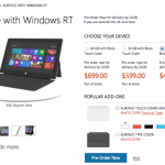 Microsoft Surface RT: UK, US and European Pricing Revealed