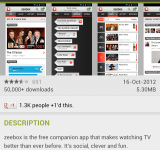 Zeebox   Now controls your TV too (Update)