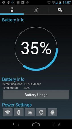 Android App Review   Battery Widget? Reborn!
