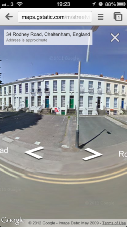 iOS gets StreetView in Google Maps Webapp