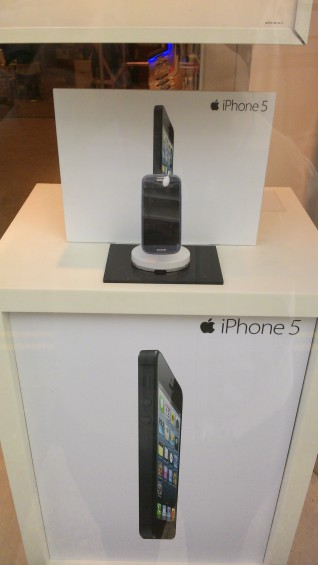 The new iPhone 5 doesnt look the same in the flesh