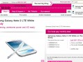 Samsung Galaxy Note II available on T-Mobile