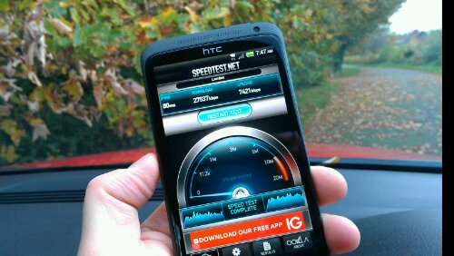 On test   How does EE 4G perform in the real world?