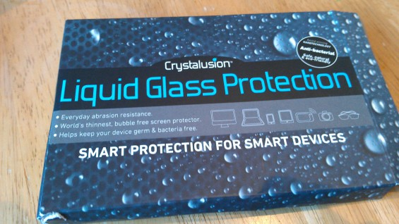 Crystalusion Liquid Glass   Protect your phone, even if you dont use a cover
