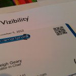 Vizibility – Clever NFC business cards and an online identity
