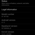 Galaxy Note II 4.1.2 update leaks