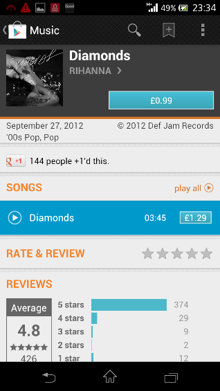 Google Music lands in the UK