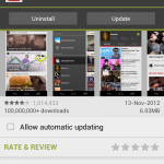 YouTube app for Android update – Screen sharing added