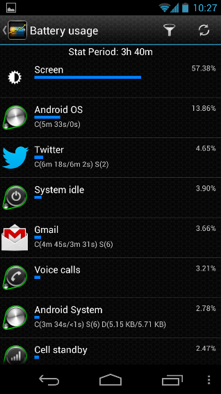 Battery Stats Plus   Recommended Android App