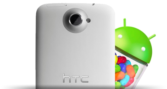 Jelly Bean lands on HTC One X