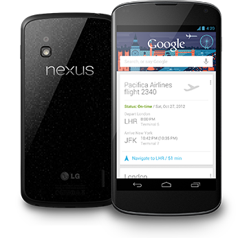 Nexus 4 back in stock today but only in the US