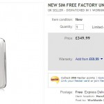 Galaxy SIII in eBay Sunday Spectacular – £349.99