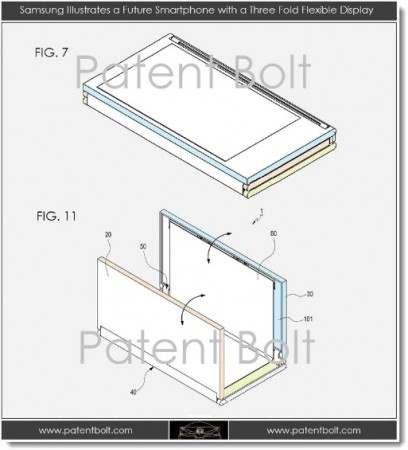 New Samsung Patent Emerges   Flexible Displays Incoming?