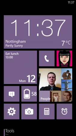 Customising Windows Phone 8