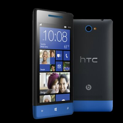 HTC 8S in blue due in stock tomorrow
