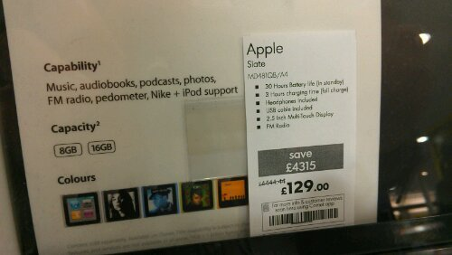 Comet pricing goes nuts as Apple gear receives MASSIVE reductions
