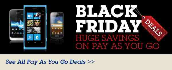 Phones 4U are getting in on the Black Friday action