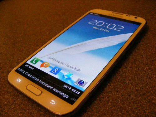 Samsung Galaxy Note II shifts 3 million in 37 days