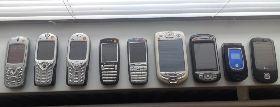 Old Handsets.....How many do you have?