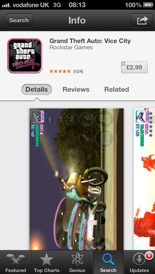 Grand Theft Auto: Vice City   iOS