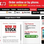 LG Nexus 4 discounted on 3rd party Vodafone contracts