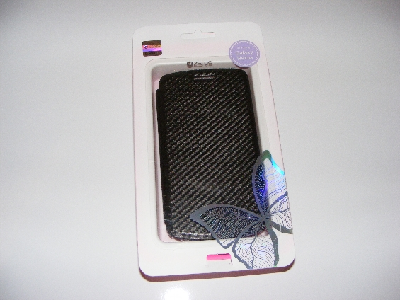 Zenus Galaxy Nexus Prestige Carbon Slim Diary Case Review